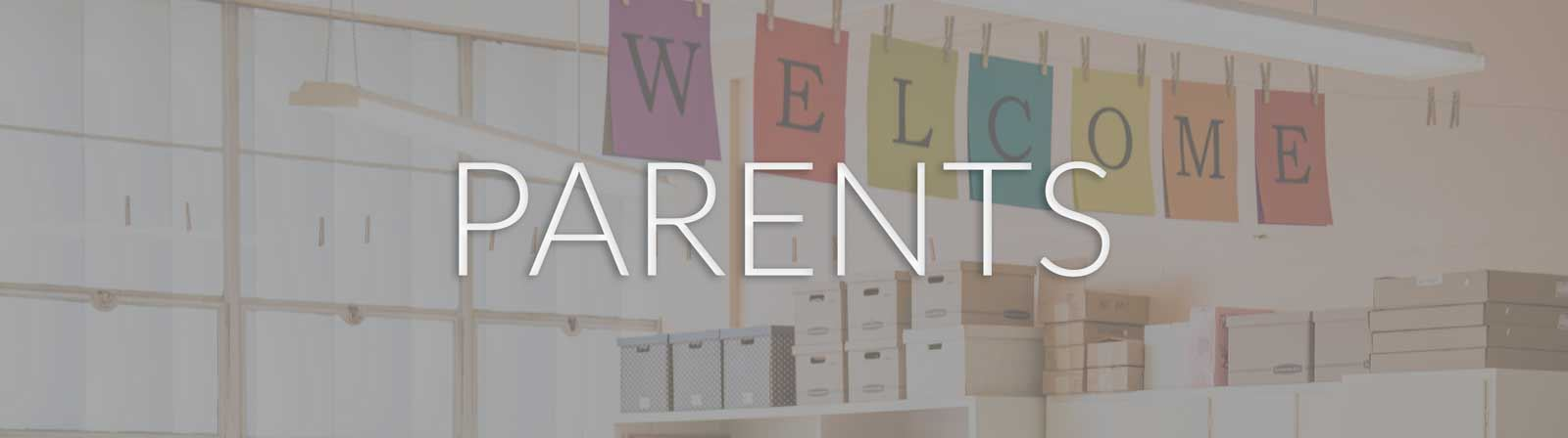 Parent Resources / Homepage
