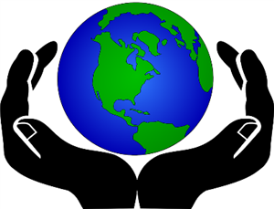hands holding earth picture