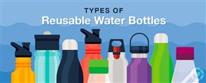 Types of Refillable Water Bottles Picture